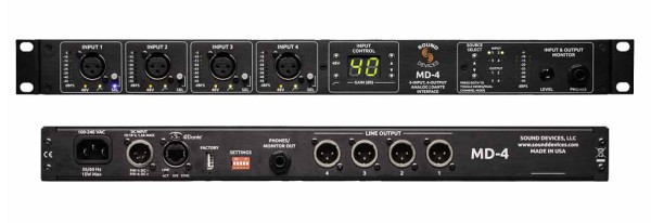 Sound Devices MD4-D
