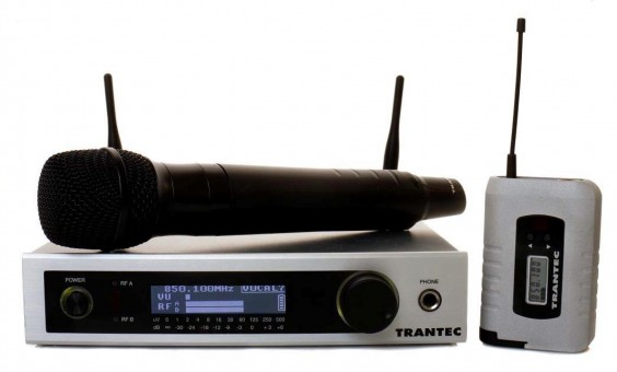 Trantec S5.5 Wireless Microphone System
