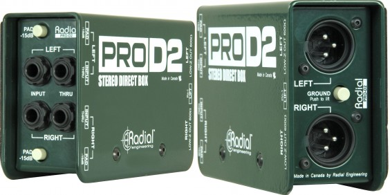 Radial Engineering ProDI and ProD2